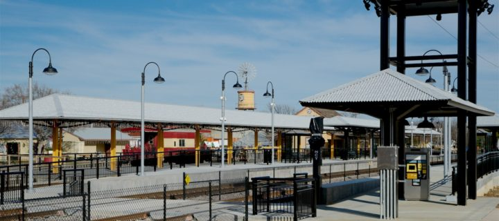 TEXRail in Grapevine provides a path to transit across the region